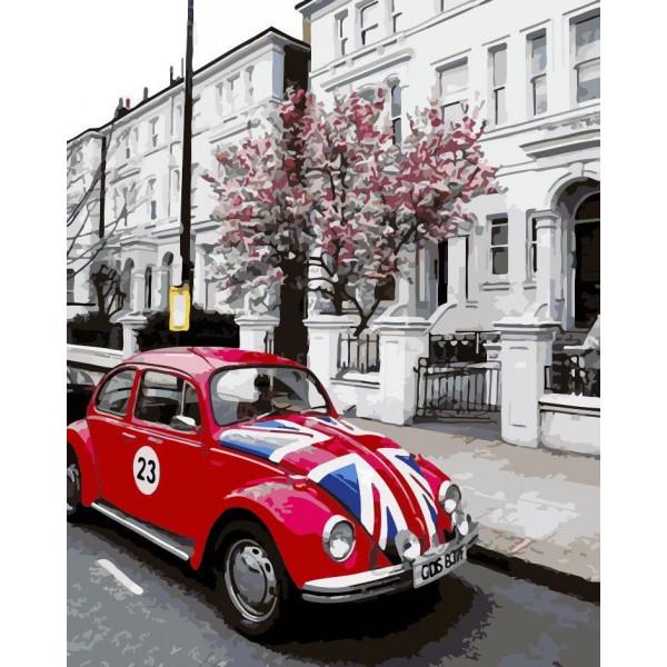 "Картина по номерам ""В стиле Лондона"""