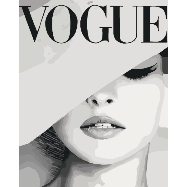 "Картина по номерам ""VOGUE"""