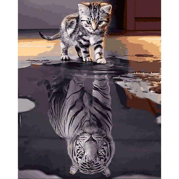 "Картина по номерам ""Душа тигра"""