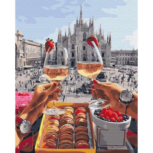 """Картина по номерам """"Завтрак в Милане"""""""