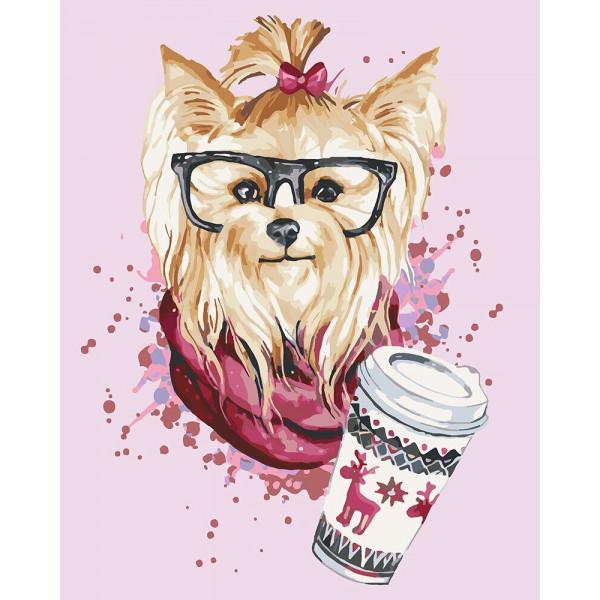 "Картина по номерам ""Будешь кофе?"""