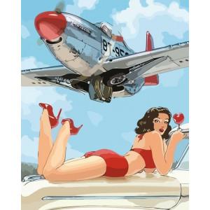 "Картина по номерам ""Мечта пилота"""