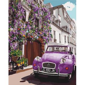 """Картина по номерам """"Летний Париж"""""""
