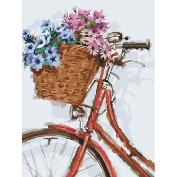 "Картина по номерам ""Цветочная прогулка"""