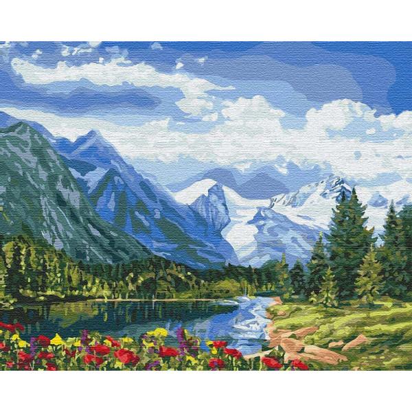 """Картина по номерам """"Альпийское совершенство"""""""