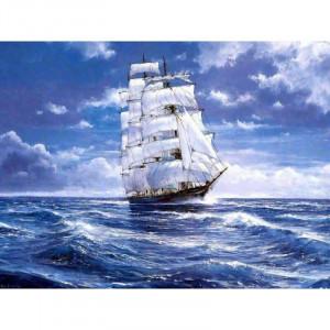 "Картина по номерам ""Белые паруса"""