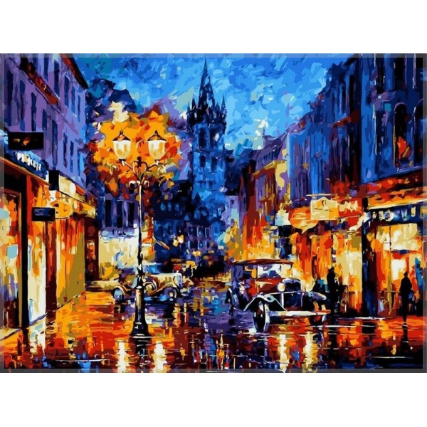 """Картина по номерам """"Амстердам"""""""