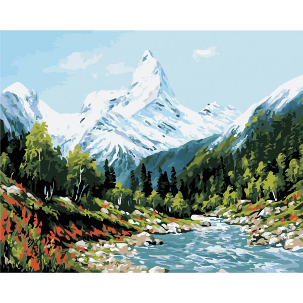"""Картина по номерам """"Высокие горы"""""""
