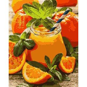 """Картина по номерам """"Апельсиновый джем"""""""
