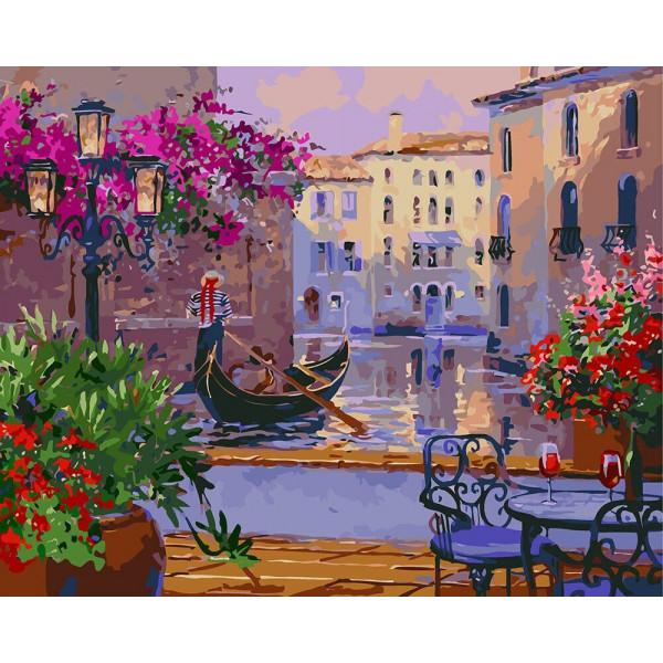 """Картина по номерам """"Волшебная Венеция"""""""