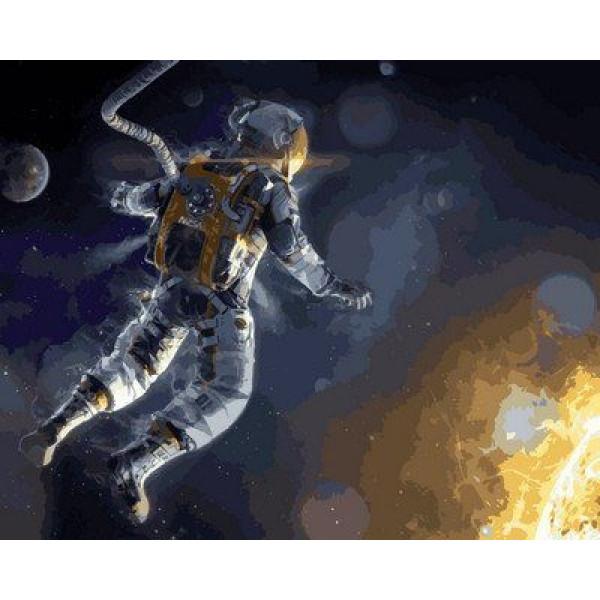 "Картина по номерам ""Гравитация"""