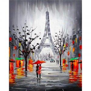 """Картина по номерам """"Контрастный Париж"""""""