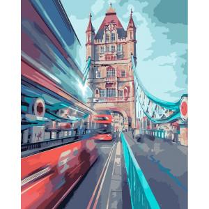 """Картина по номерам """"Динамичный Лондон"""""""