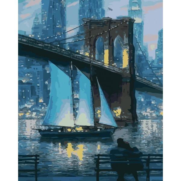 """Картина по номерам """"Город, который не спит"""""""
