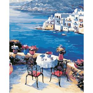 """Картина по номерам """"Греческий колорит"""""""