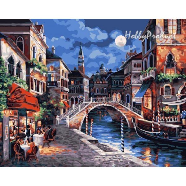 """Картина по номерам """"Венецианская ночь"""""""