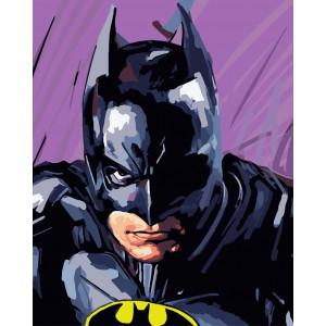 """Картина по номерам """"Бэтмен"""""""