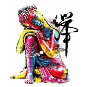 """Картина по номерам """"Будда"""""""