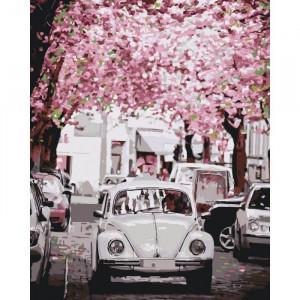 """Картина по номерам """"Volkswagen Beetle"""""""