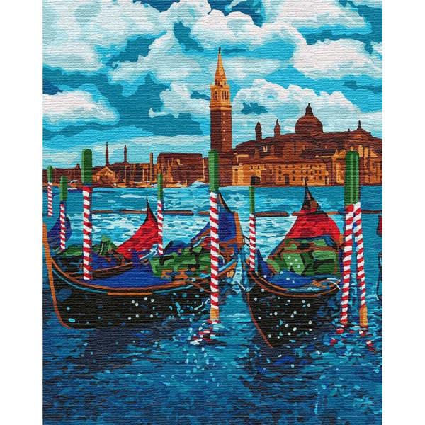 """Картина по номерам """"Венецианское такси"""""""