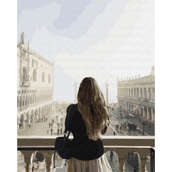 """Картина по номерам """"Диана у мечети"""""""
