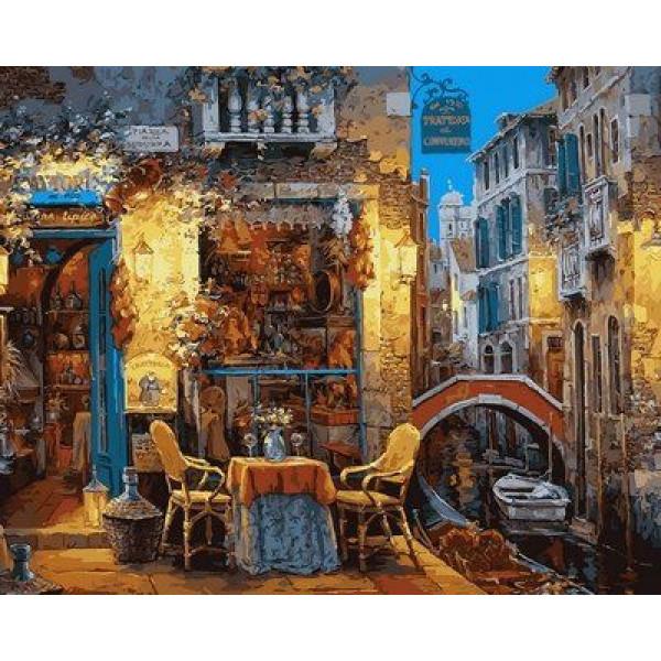 """Картина по номерам """"Венецианское кофе"""""""