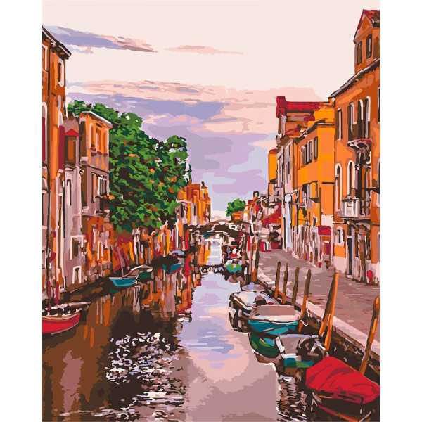 """Картина по номерам """"Венецианский вечер"""""""
