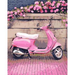 "Картина по номерам ""В розовом стиле"""