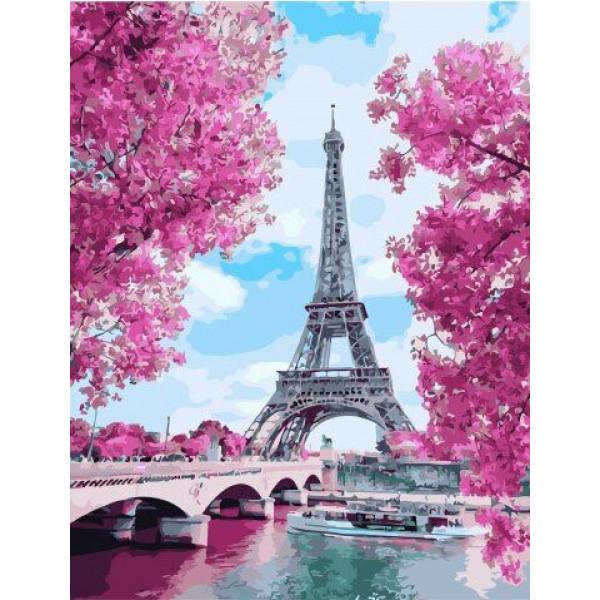 """Картина по номерам """"Весна в Париже"""""""