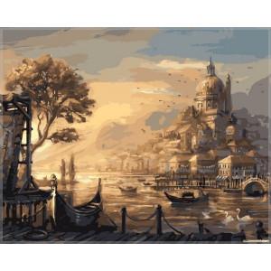 """Картина по номерам """"Вечерняя Венеция"""""""