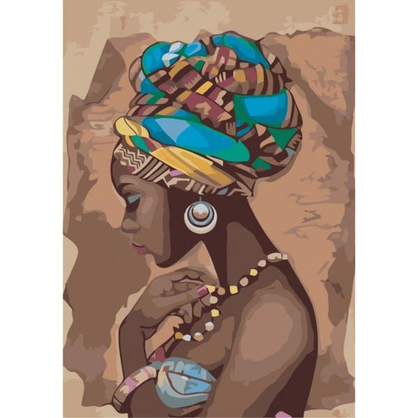 "Картина по номерам ""Жемчужина Африки"""