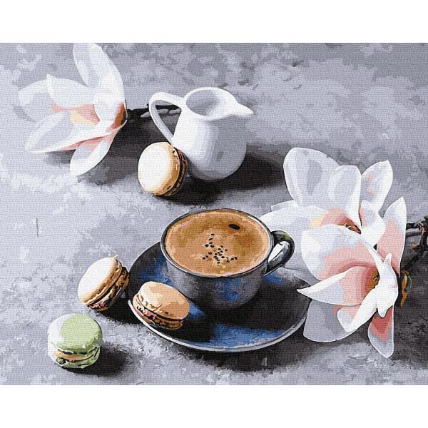 """Картина по номерам """"Ванильный кофе"""""""