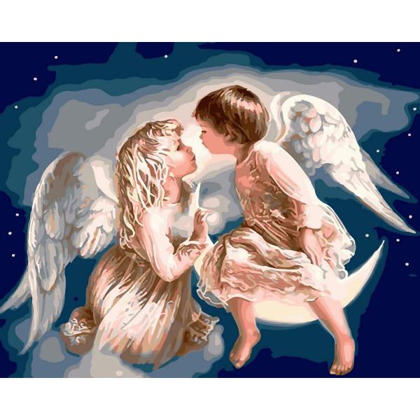 "Картина по номерам ""Ангелочки"""