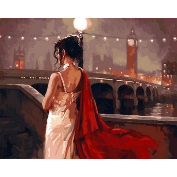 """Картина по номерам """"Винтажный Лондон"""""""