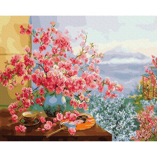 """Картина по номерам """"Весна в Японии"""""""