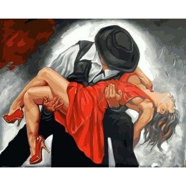 "Картина по номерам ""В вихре танго"""