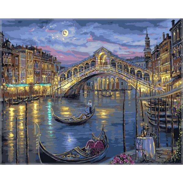 """Картина по номерам """"Большой канал Венеции"""""""