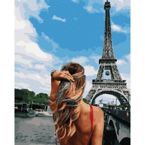 "Картина по номерам ""Ветер Франции"""