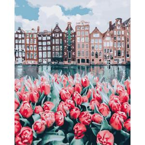 """Картина по номерам """"Тюльпаны Амстердама"""""""