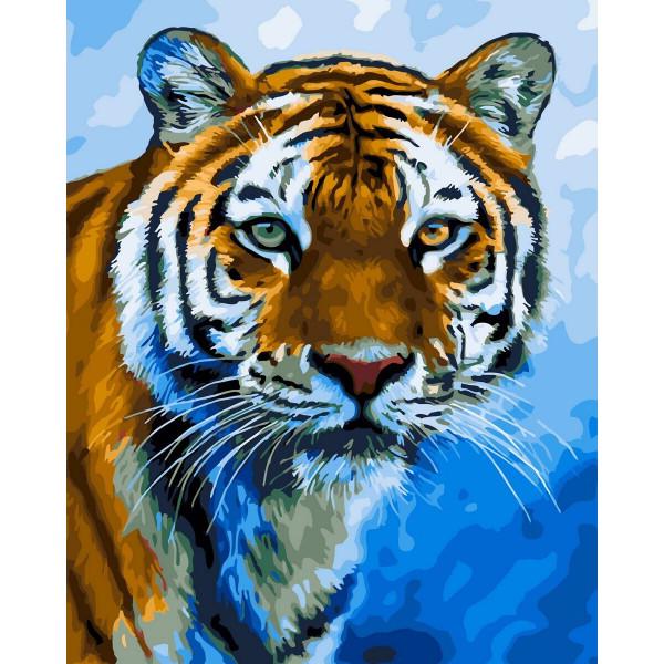 """Картина по номерам """"Амурский тигр"""""""