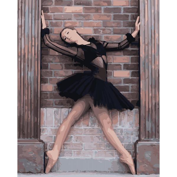 "Картина по номерам ""Балерина"""