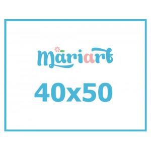 Картина по номерам с Вашим фото, 40x50 см