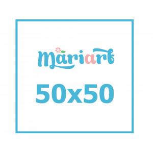 Картина по номерам с Вашим фото, 50x50 см