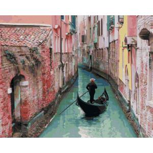 """Картина по номерам """"Венецианский переулок"""""""