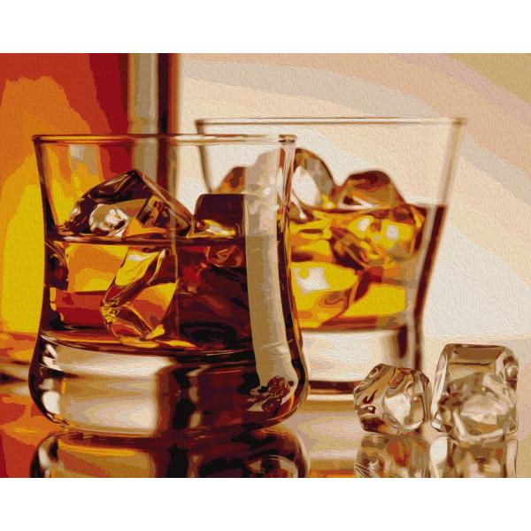 """Картина по номерам """"Виски со льдом"""""""
