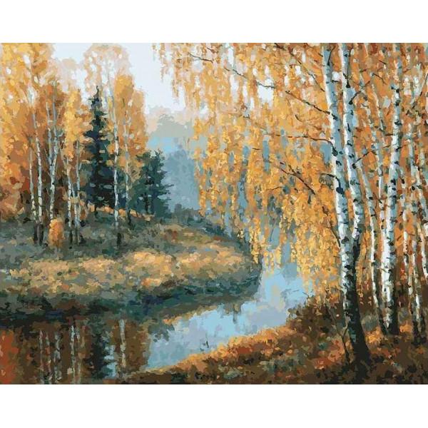 """Картина по номерам """"Вот и осень пришла"""""""