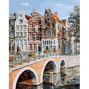 """Картина по номерам """"Императорский канал в Амстердаме"""""""