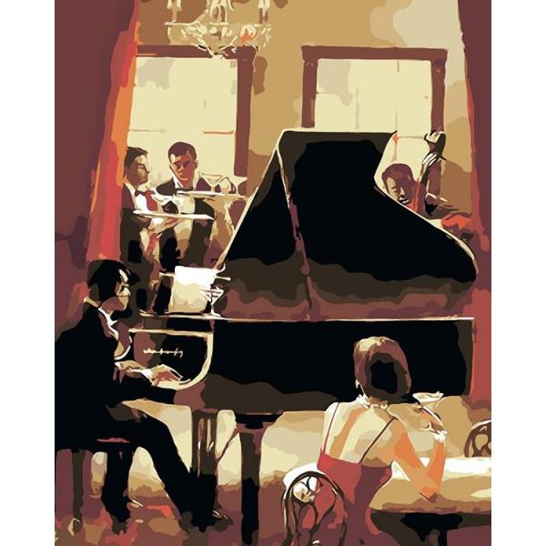 "Картина по номерам ""Вечер музыки"""