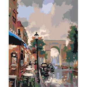 "Картина по номерам ""Триумфальная арка"""