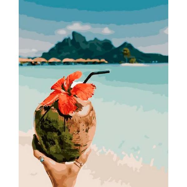 "Картина по номерам ""Вкус кокоса"""